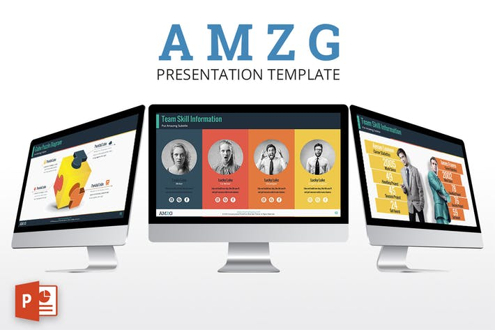 Thumbnail for AMZG - Powerpoint Presentation Template