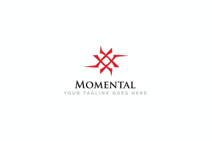 Cover Image For Momental - Abstract Logo Template