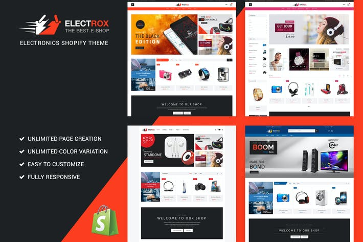 Thumbnail for Electrox - Electronics Shopify Theme
