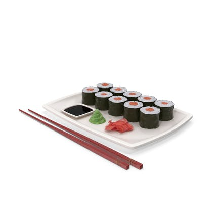 Sushi Maki Teller