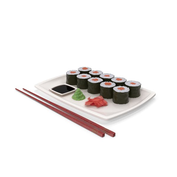 Sushi Maki Plate