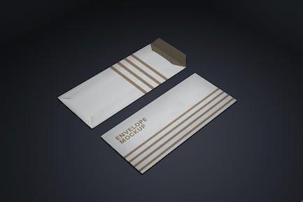 Realistisches Umschlag-Design-Mockup