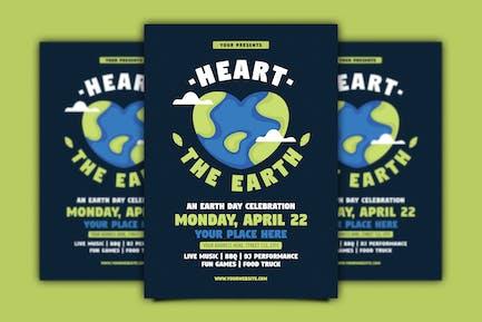 Heart the Earth Flyer