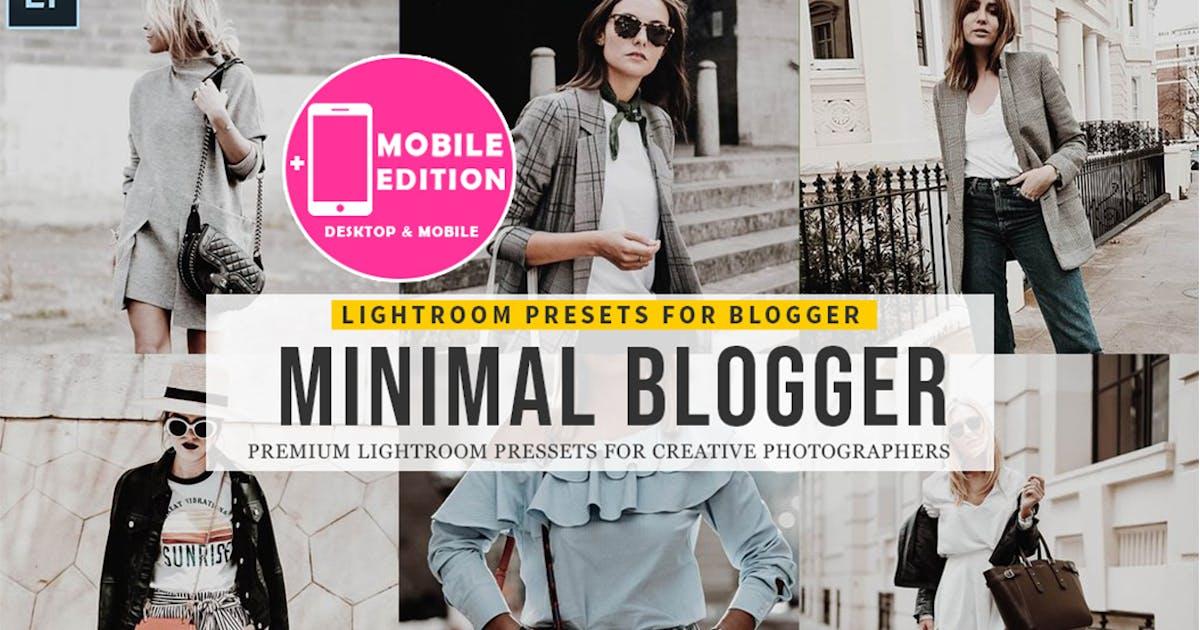 Download Minimal blogger Lightroom Presets by Presetsh