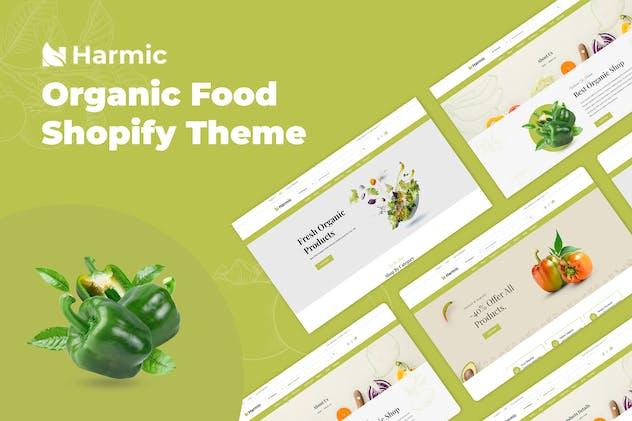 Harmic – Organic Food Shopify Theme