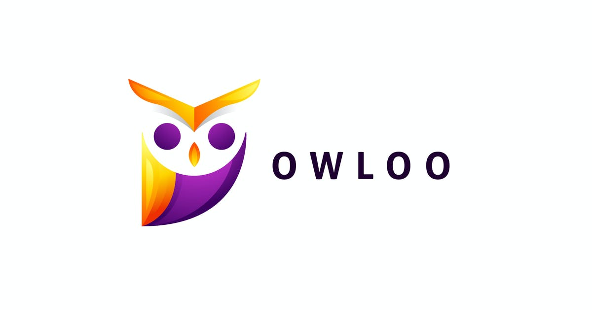 Download Colorful Owl Logo by Suhandi