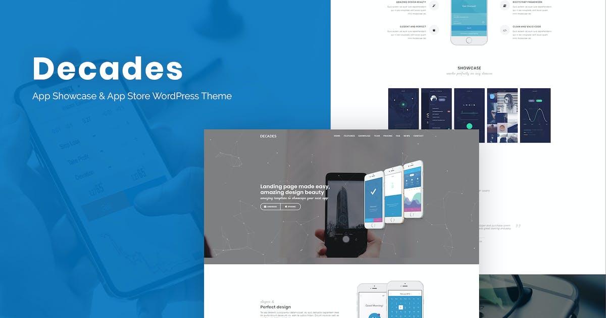 Download Decades - App Showcase & App Store WordPress Theme by ThemeModern