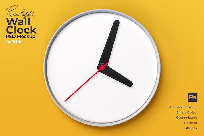 Thumbnail for Wall Clock Mockup