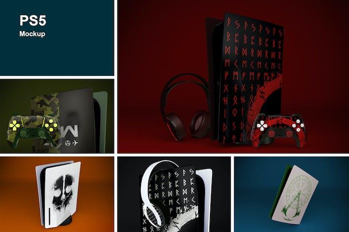 Thumbnail for PS5 Mockup
