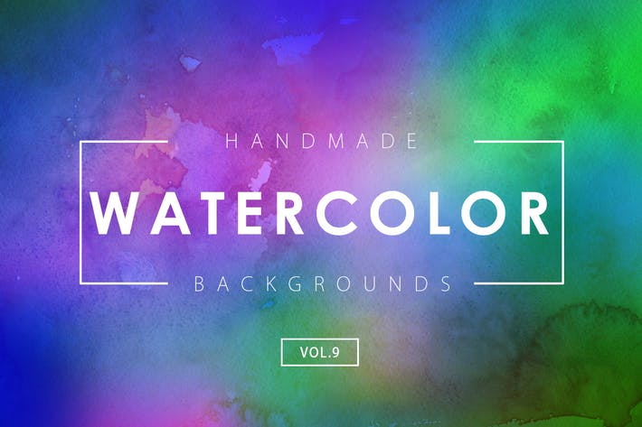 Thumbnail for Handmade Watercolor Backgrounds Vol.9