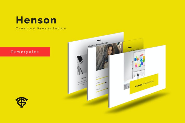Cover Image For Henson Creative - Powerpoint