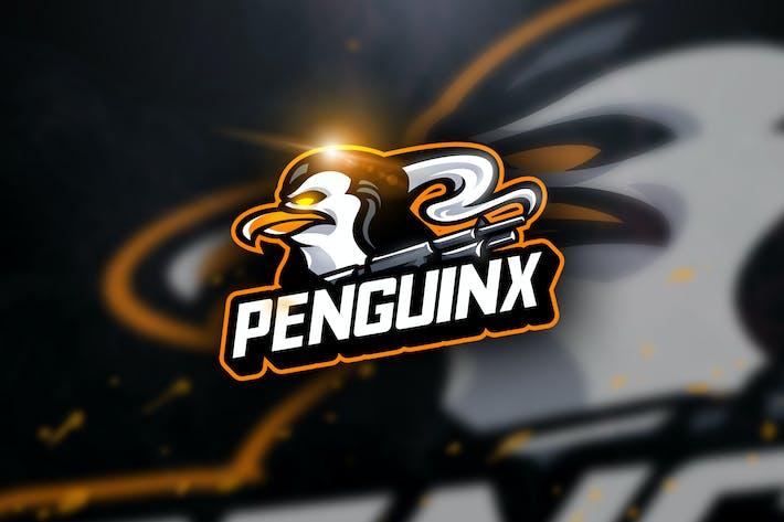 Thumbnail for Penguinx - Mascot & Esport Logo