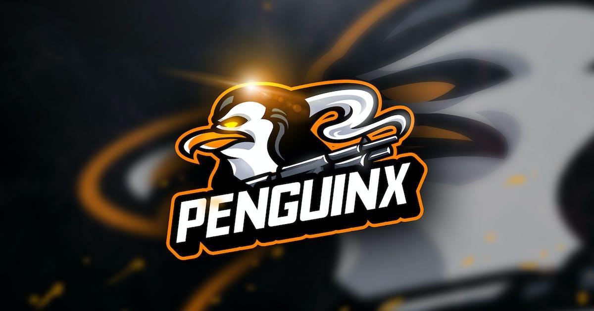 Download Penguinx - Mascot & Esport Logo by aqrstudio