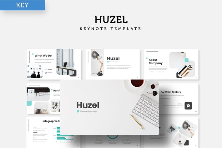 Huzel - Keynote Template