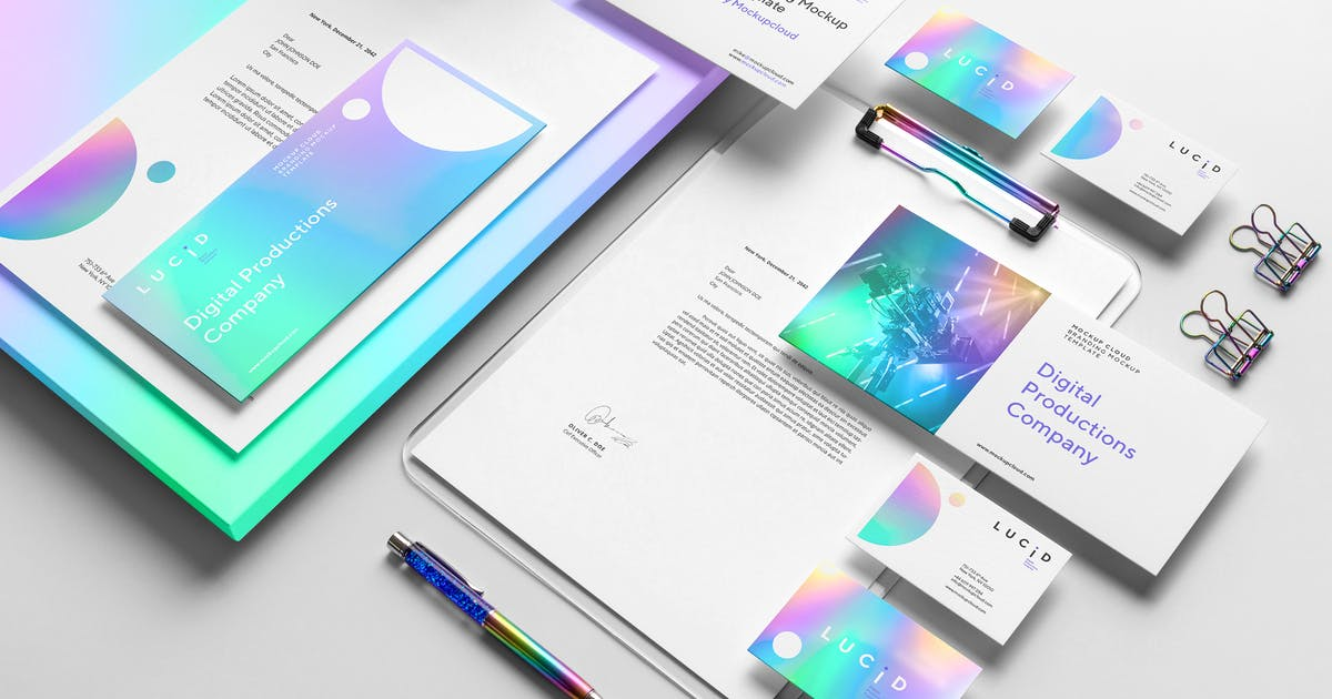 Download Lucid Branding Mockup Vol. 1 by Genetic96