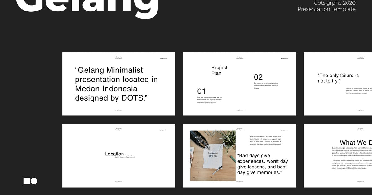 Gelang - Powerpoint by graptailtype