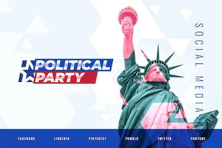 Politician & Political Party – Social Media Kit