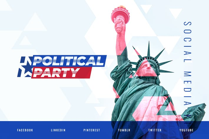 Thumbnail for Politician & Political Party – Social Media Kit
