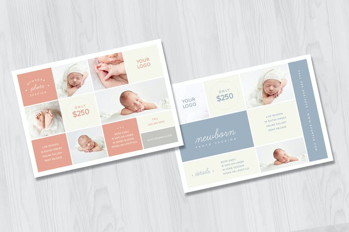 Thumbnail for Newborn Photography Pricing Guide Template