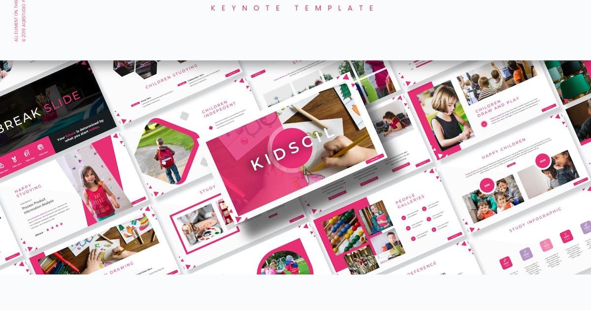 Download Kidscil - Keynote Template by aqrstudio