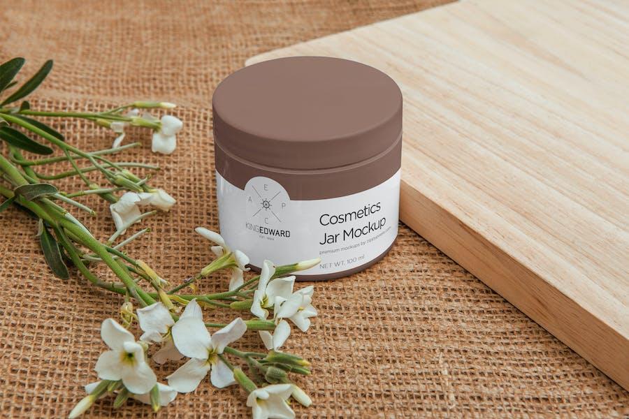 Cosmetic Packaging Bottle & Jar Mockups