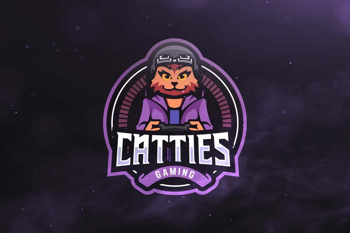 Thumbnail for Catties Gaming Sport and Esports Logo