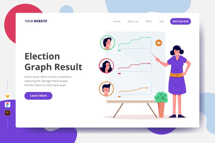 Thumbnail for Election Graph Result - Landing Page