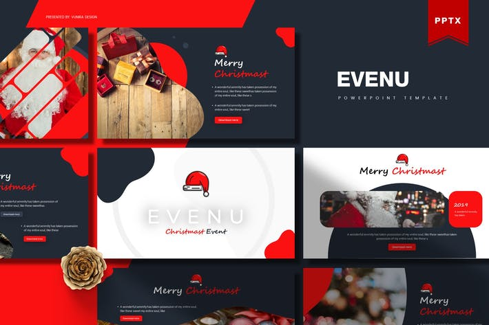 Thumbnail for Evenue | Powerpoint Template