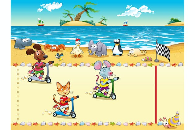 Competition in Beach