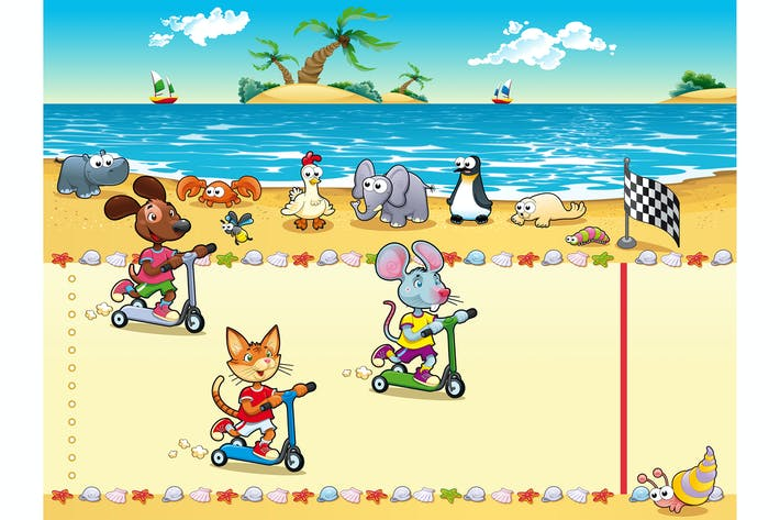 Thumbnail for Wettbewerb im Strand