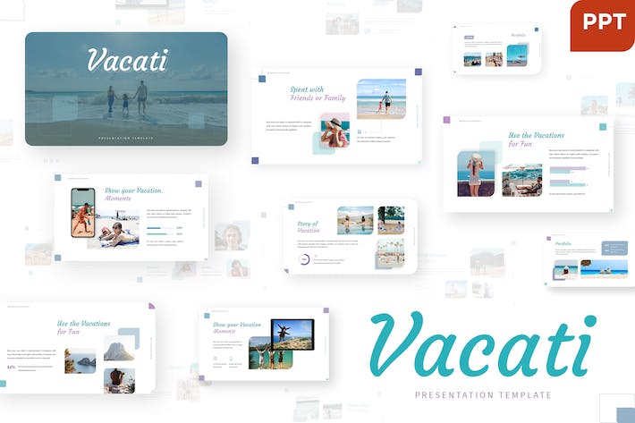 Thumbnail for Vacati - Trip Powerpoint Template