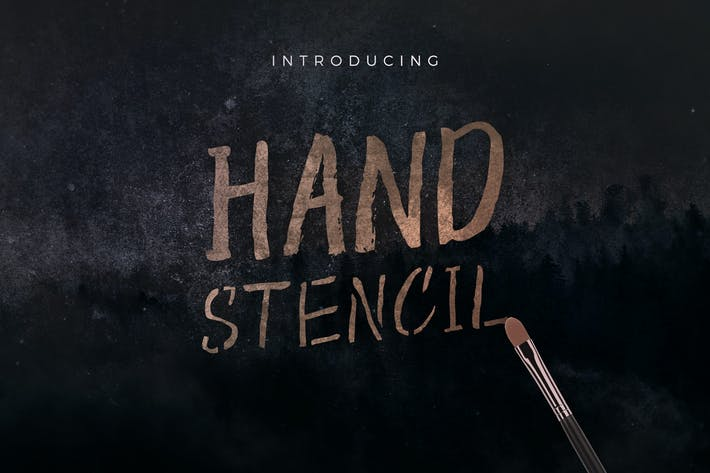 Thumbnail for Hand Stencil