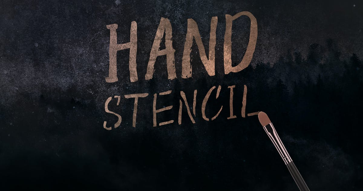 Download Hand Stencil by yipianesia
