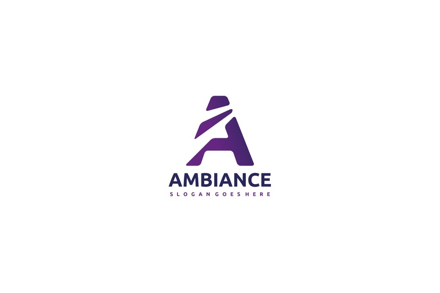 A Letter- Ambiance Logo