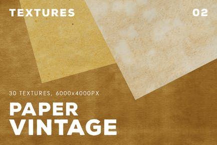 30 Vintage Paper Textures | 02