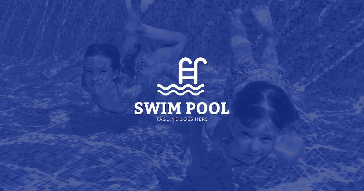 Swim Pool Logo by graphix_shiv