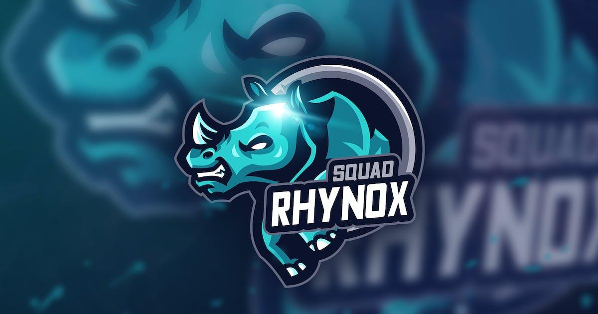Download Rhynox Squad - Mascot & Esport Logo by aqrstudio