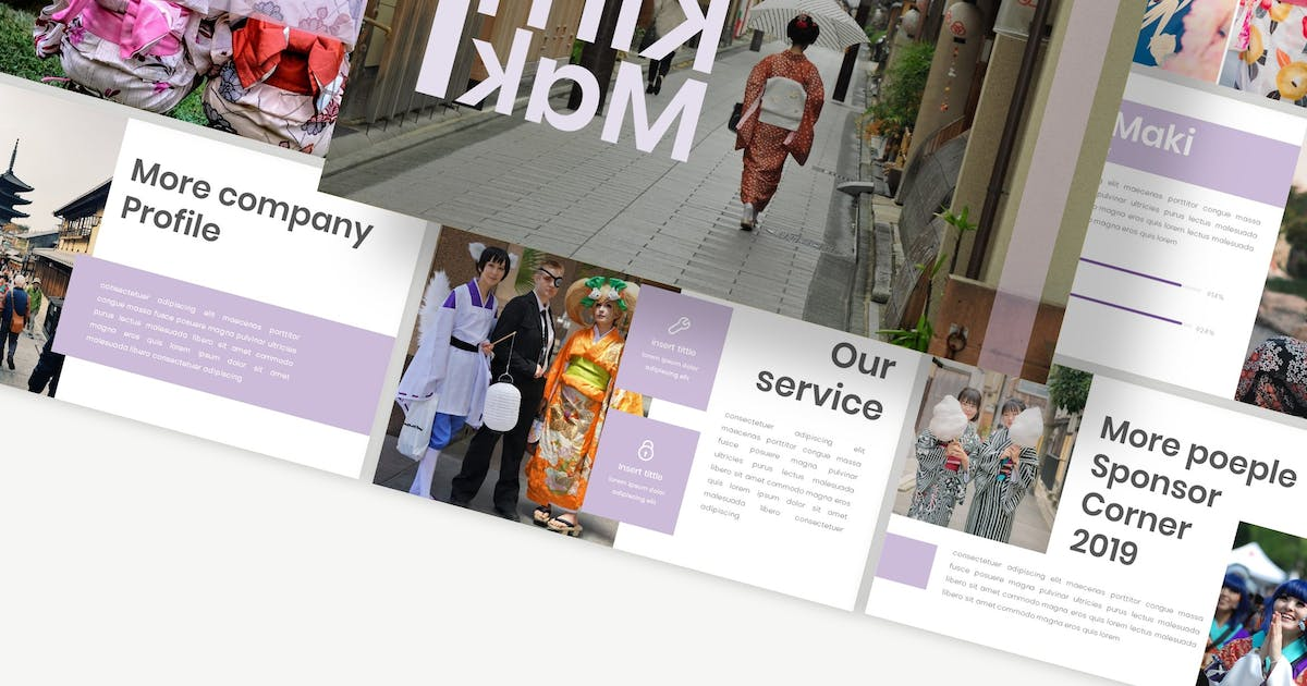 Download Kimimaki - Powerpoint Template by Macademia