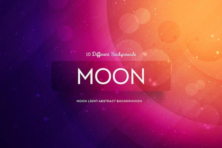 Thumbnail for Mondlicht Abstrakte Hintergründe
