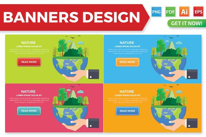 Thumbnail for Natur Banner Design