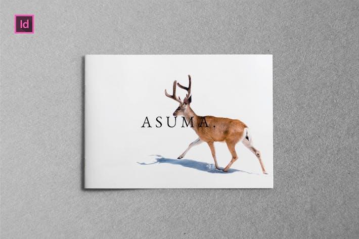 Thumbnail for ASUMA -  A5 Landscape Lookbook template