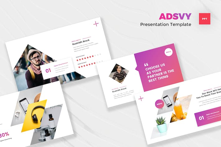 Thumbnail for Advertisement PowerPoint Template