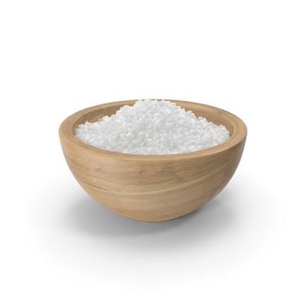 Cuenco de sal gruesa