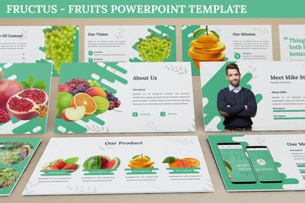 Fructus - Fruits Powerpoint Template