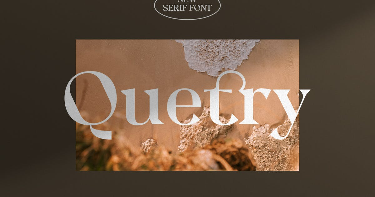 Download Quetry Serif Display by TempCraft