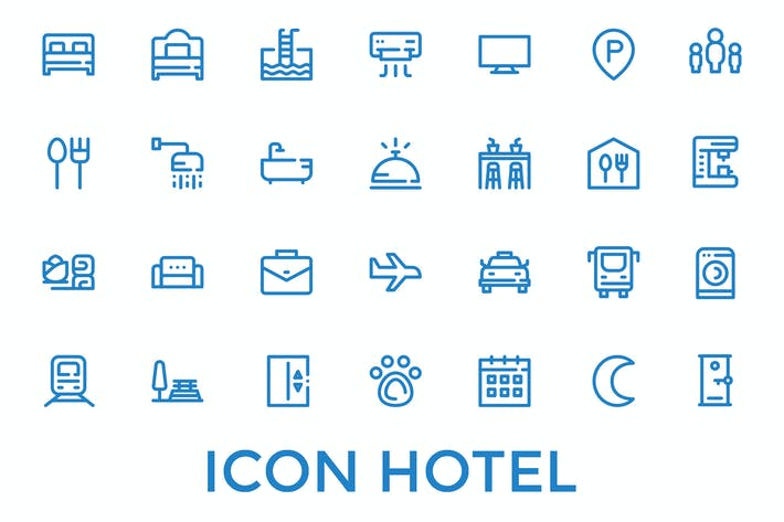 Thumbnail for Hotel Amenity Icon