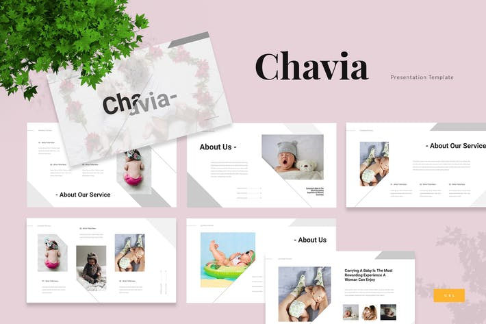 Thumbnail for Chavia - Baby Care Google Slides Presentation