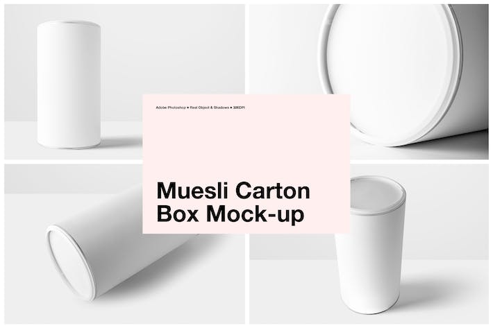 Thumbnail for Muesli Cylinder Box