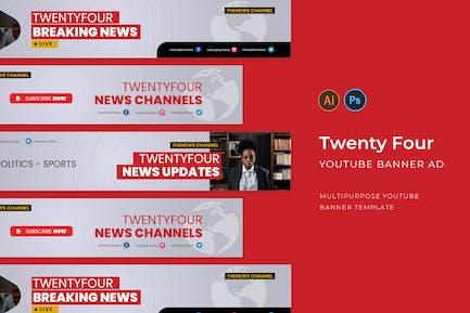 Twenty Four Youtube Cover