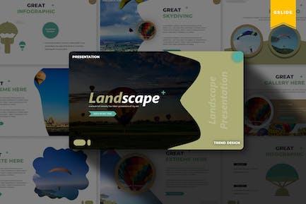 Пейзаж | Шаблон слайдов Google